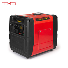 Hot Sale Electric Start Fuel-Efficient Small Quiet Digital Diesel Generator with 5kw