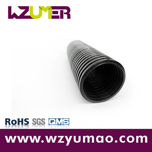 WZUMER Popular PA Nylon Heat Resistant Flexible Corrugated Hose for Engineering