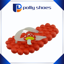 2016 hot eva foam bath red flip flop girl nude beach slipper