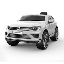 VW Touareg Licensed Official Approved ASTM Material Kids Like Toy Cars