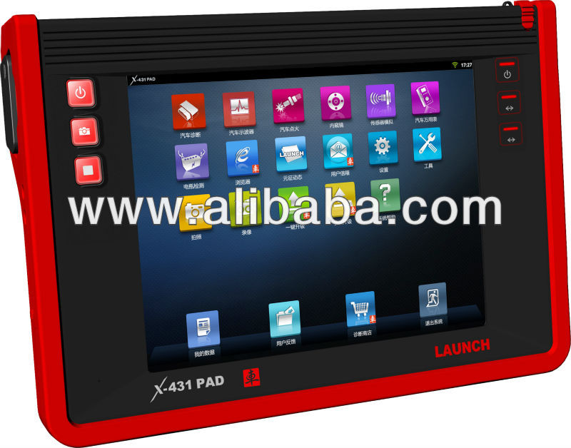 2012 car network time diagnostic tool LAUNCH X431 PAD