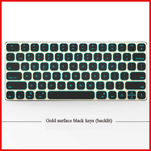 Fast supplier keyboard backlit wireless keyboard