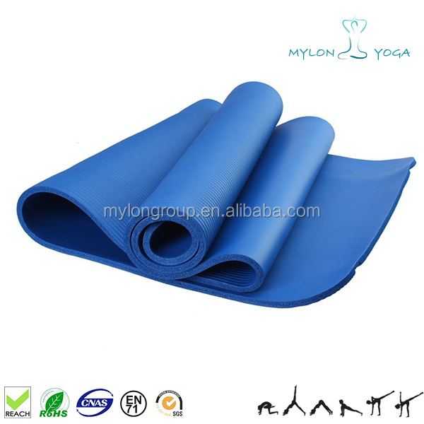 New Wholesale Supreme Quality nbr yoga mat with carry belt