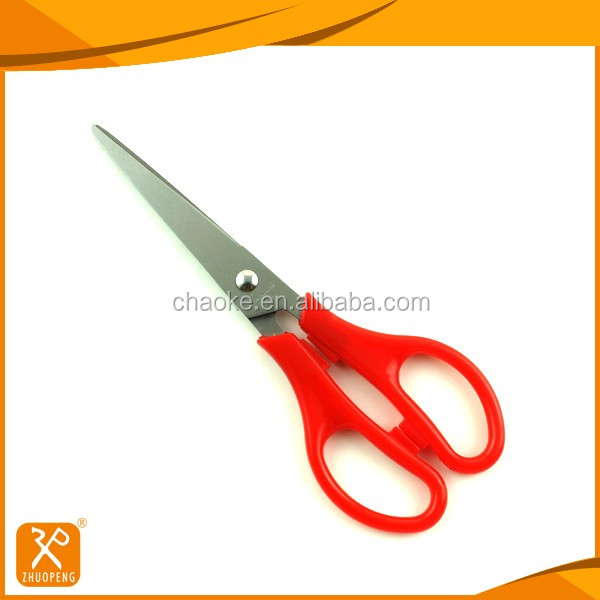 "6"" FDA hot sale popular PP handle office stationery scissors"