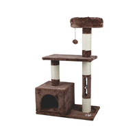 Pet Factory Wholesale Cat Tree Furniture,Climbing Wooden Cat Tree House
