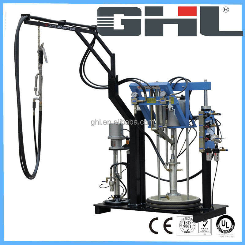 BST03 two component rubber spreading machine for IGU