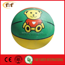 official size new style rubber basketball