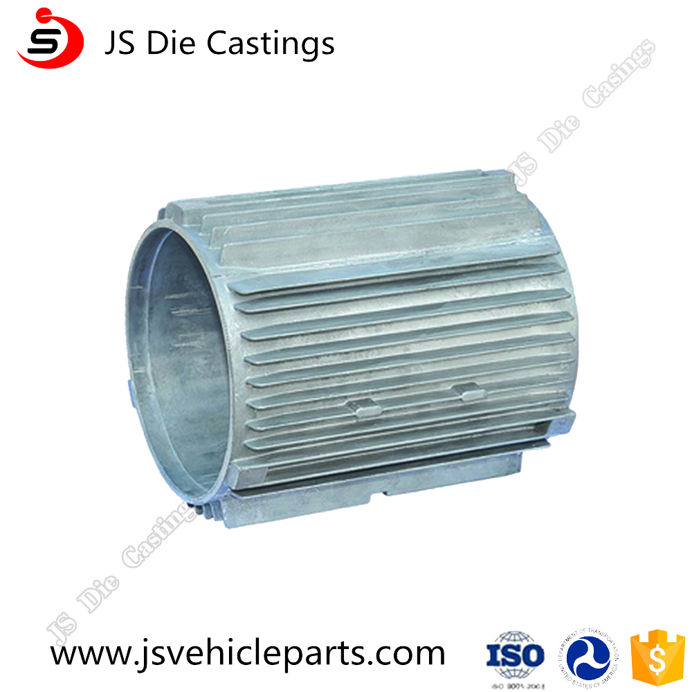 Hi Precision Electrical motor Body Customized Extruded aluminium parts