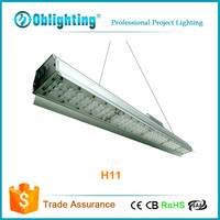 New model led high bay light linear high bay light with lens cover 80w to 200w