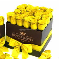 Customized Packing Corrugated Paper Flower Box