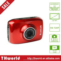 $18.5 only colorful F5 Sport Camera HD 1080P Action waterproof Camera
