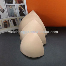 foam molded hard bra cup