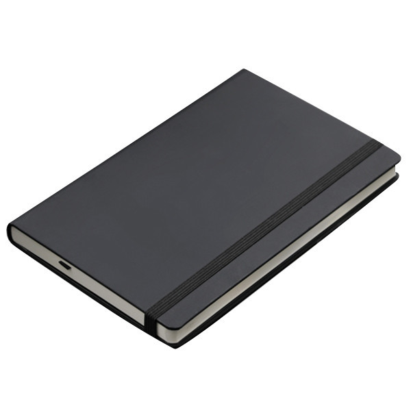 High quality wholesale eco pu leather paper a4 size school notebook