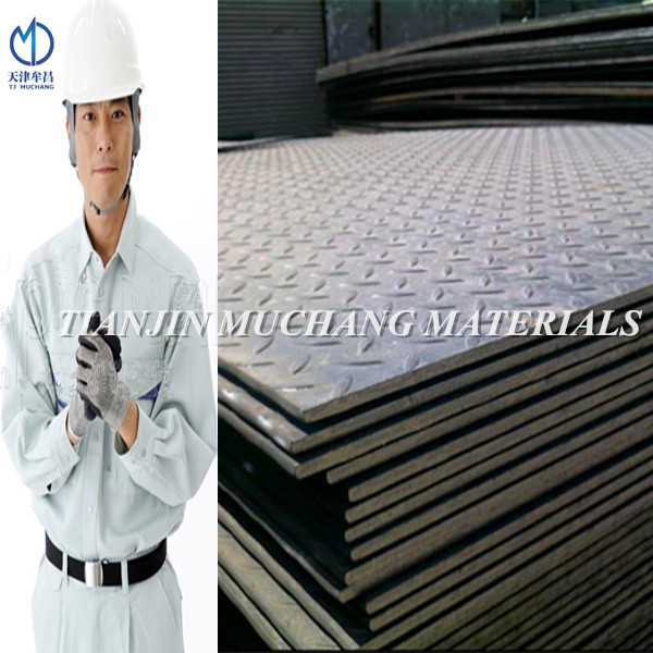 Q235 / ss400 / q345 Checkered Steel Plate Price Of Checkered Plate
