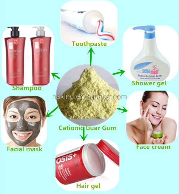 Cationic Guar Gum for Personal Care products