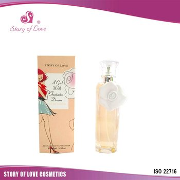 nice scent private label graceful lady perfume