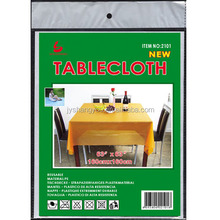 PEVA TABLECLOTH