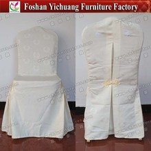 Cotton polyester chair covers for weddings banquet hotel wholesale YC-855-03