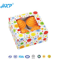 Cardboard box 1-Layer SBB Chocolate Cupcake Paper Packaging Boxes
