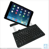 Alibaba china rotating high quality wireless bluetooth keyboard case for ipad air with stand