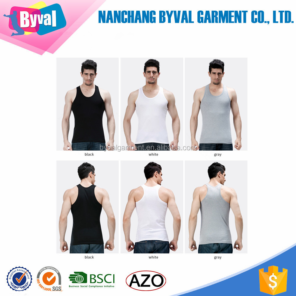 Mens Tank Tops Sports T Shirt Custom Blank Sports Singlets White Blank T-Shirts Cheap Sale Round Neck Running gym top shirts