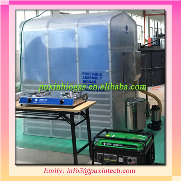 Mini Wastewater Treatment Plant : Collapsible mini sewage treatment plant for small farms