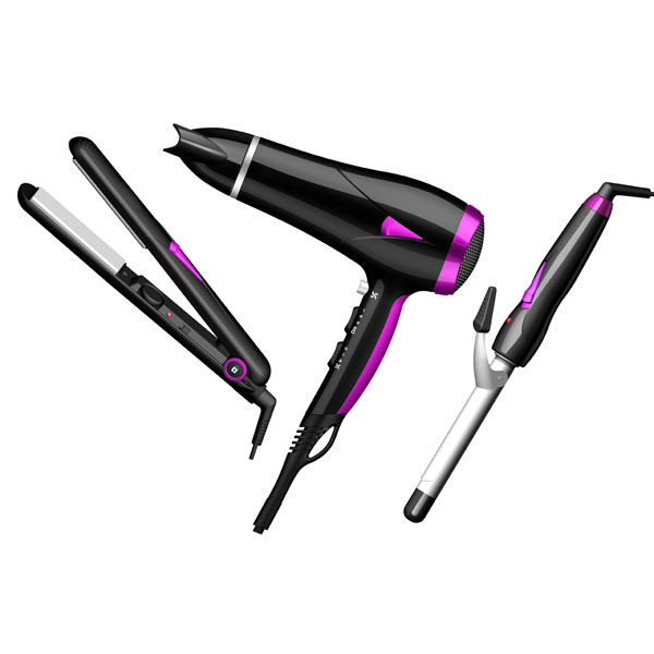 3 in 1 professional salon hair tools set from CIXIWODE