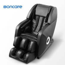 New product 2014 advanced comfortable 3D zero gravity electric leather reclining massage chair with heating function