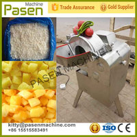 Trade assaurance vegetable and fruit dicing machne / dicing machine for mango/carrot/radish/potato