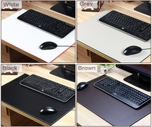 Use for computer long extra large leather desk mouse pad
