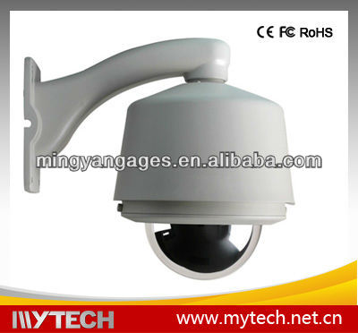 650tvl Hitachi Outdoor PTZ high speed dome cctv camera Housing zoom cameras IP66 promotiona