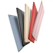 Lightweight Smart Case Trifold Stand with Auto Sleep Wake Function Hard Back Cover Case for iPad 9.7