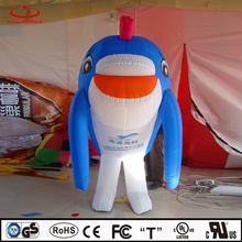 inflatable dolphin, inflatable walking cartoon, inflatable LED light cartoon