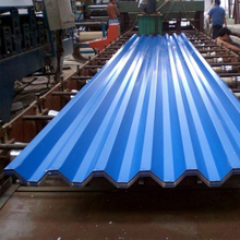 Cold rolled corrugated roofing sheet