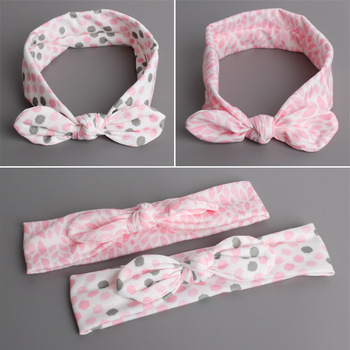 MS70022W New arrival baby soft printed hair band