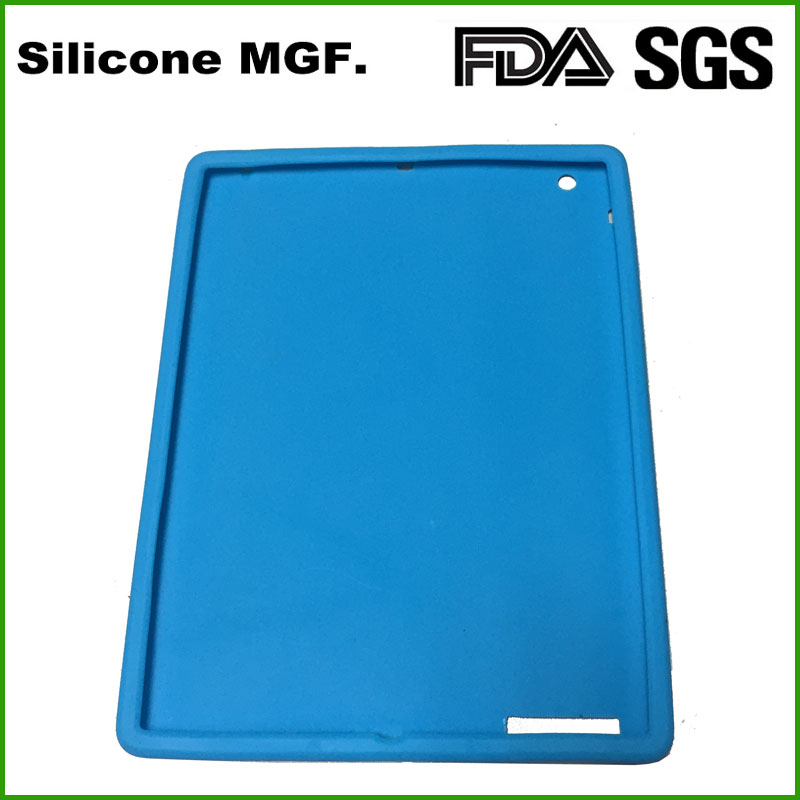 Silicone Sleeve Cover Case For Apple iPad 2/3/4 Slim Rubber Protect