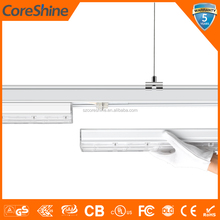 5ft 160lm/W no flicker linkable led linear highbay high bay trunking wiring system