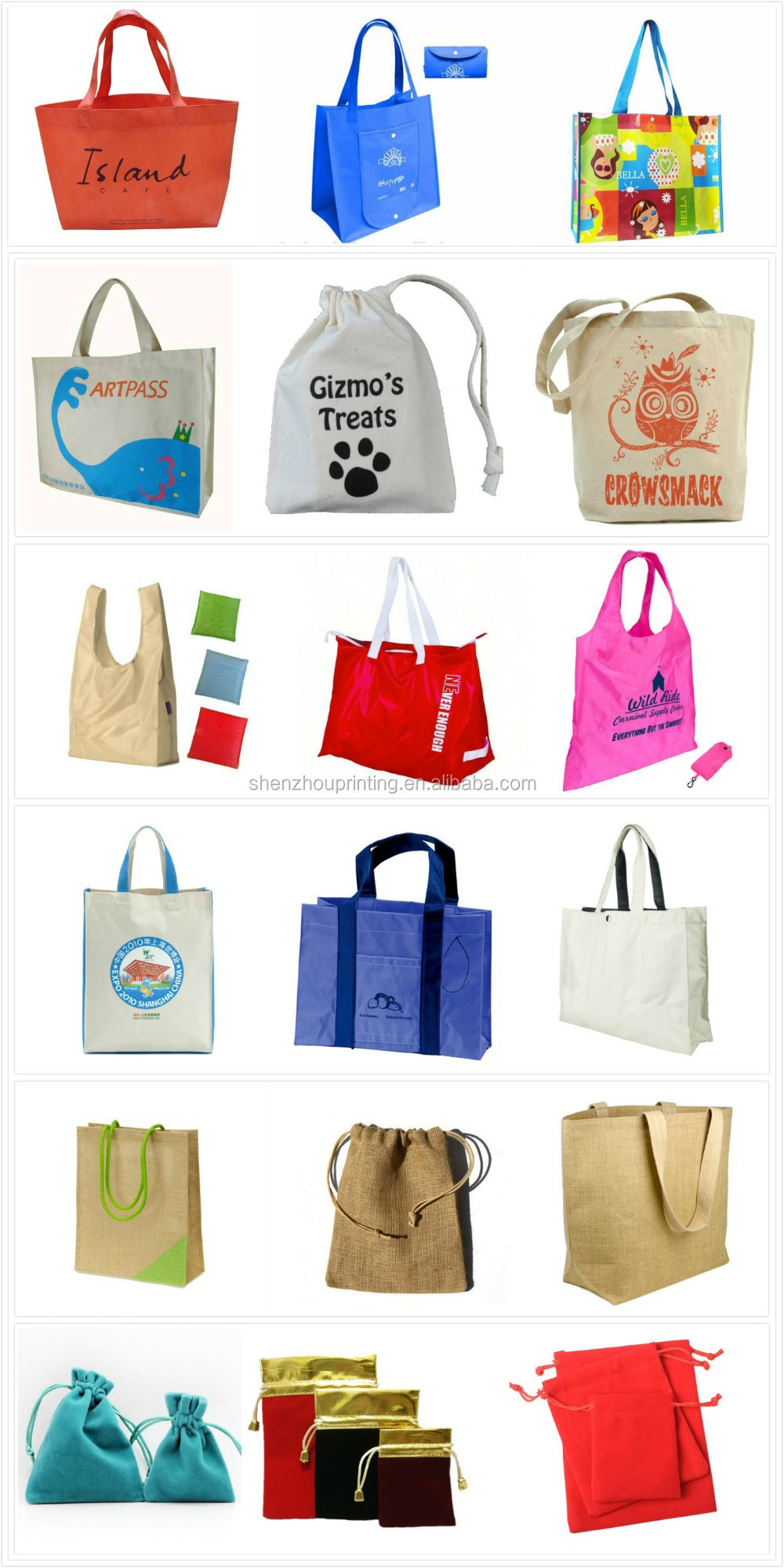 Hot product Specializing in cotton drawstring bag
