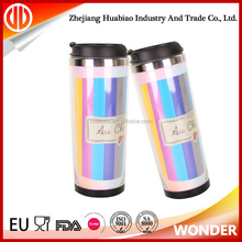 Double Wall Thermal Coffee Non-Spill Travel mug