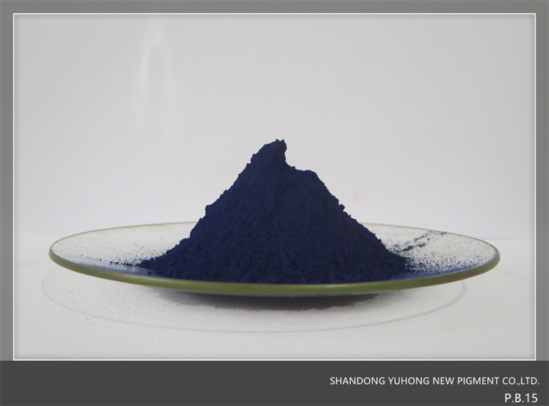 Main use for sovlent.High transparency.Pigment Blue 15-1.P.B.15-1 Blue pigment powder.Cas:12239-87-1