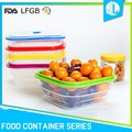 Promotion silicone material FDA & LFGB insulated thermal food container