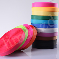 factory wholesale pp/nylon/polyester stripe grosgrain ribbon/webbing