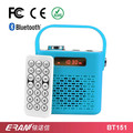 2017 high quality subwoofer retro portable bluetooth speaker with handle
