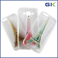 [GGIT] 3D Eiffel Tower Design Liquid TPU+PC Phone Cover For IPHone 6 Case
