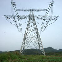 various galvanized electric tower