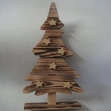 The craftsmanship is exquisite wooden christmas tree decoration