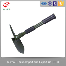 A3 steel Military Folding Shovel/emergency self-defense tool/planting tool