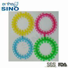 SINO ORTHO ortodontic color elastic ligature ties power chains