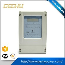 Digital display household electric meter three phase electronic power meter for measuring electricity