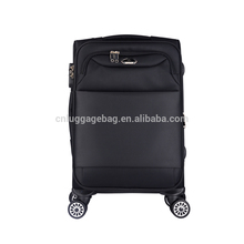 china manufactory travel roller cabin luggage with laptop compartment